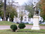 Plaza Independencia en Tandil
